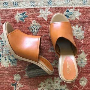 Old Navy Vegan Leather Slides Mules